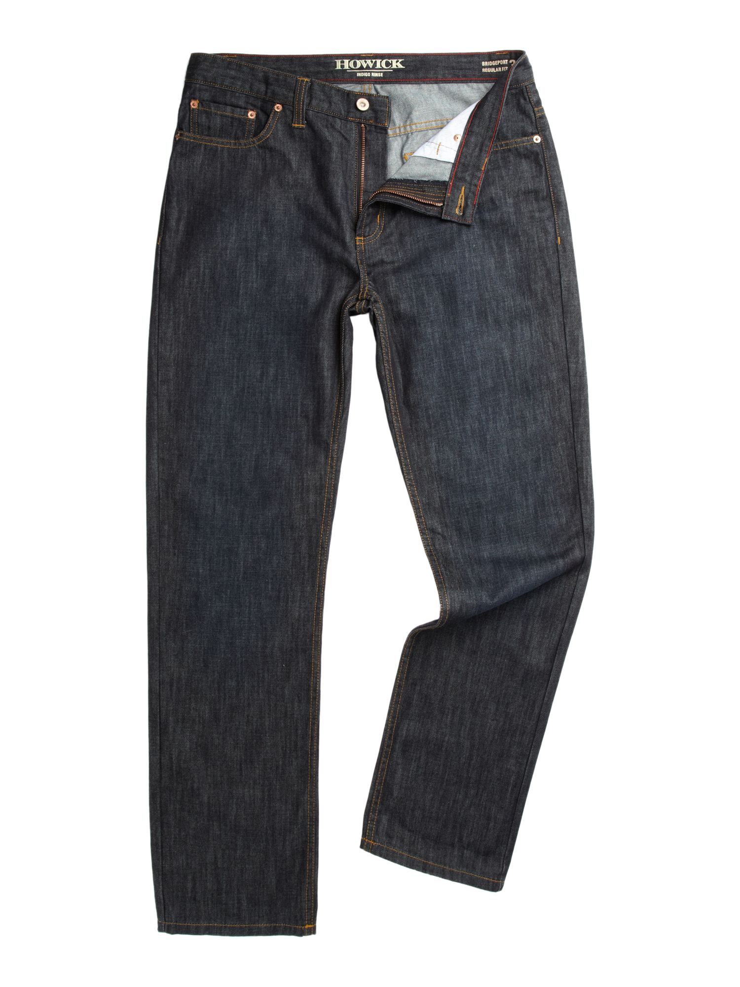 Bridgeport five pocket dark washed jeans