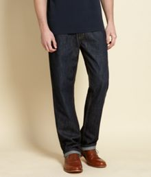 Howick Bridgeport Five Pocket Dark Washed Jeans