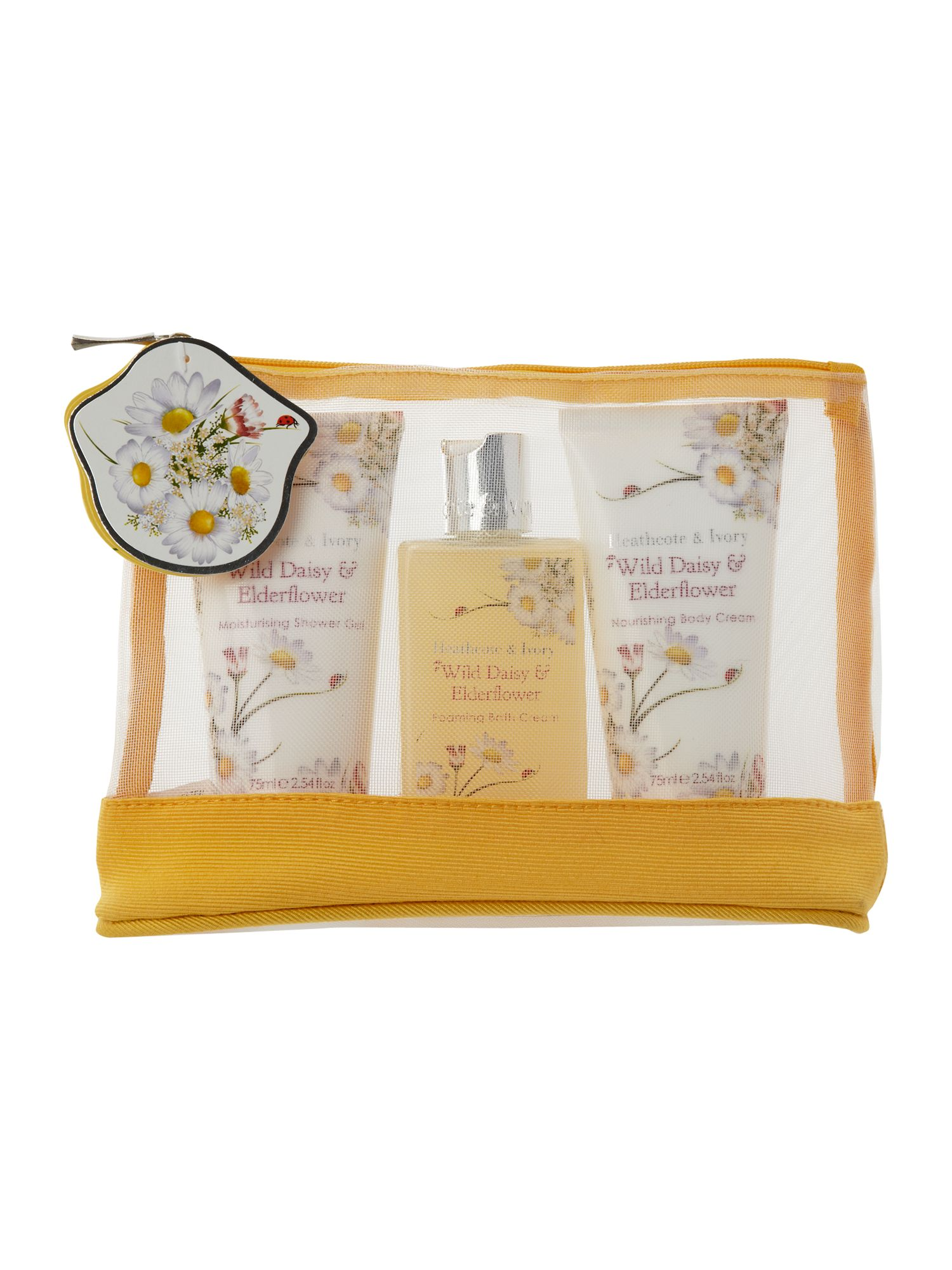 Wild Daisy & Elderflower Travel Essentials