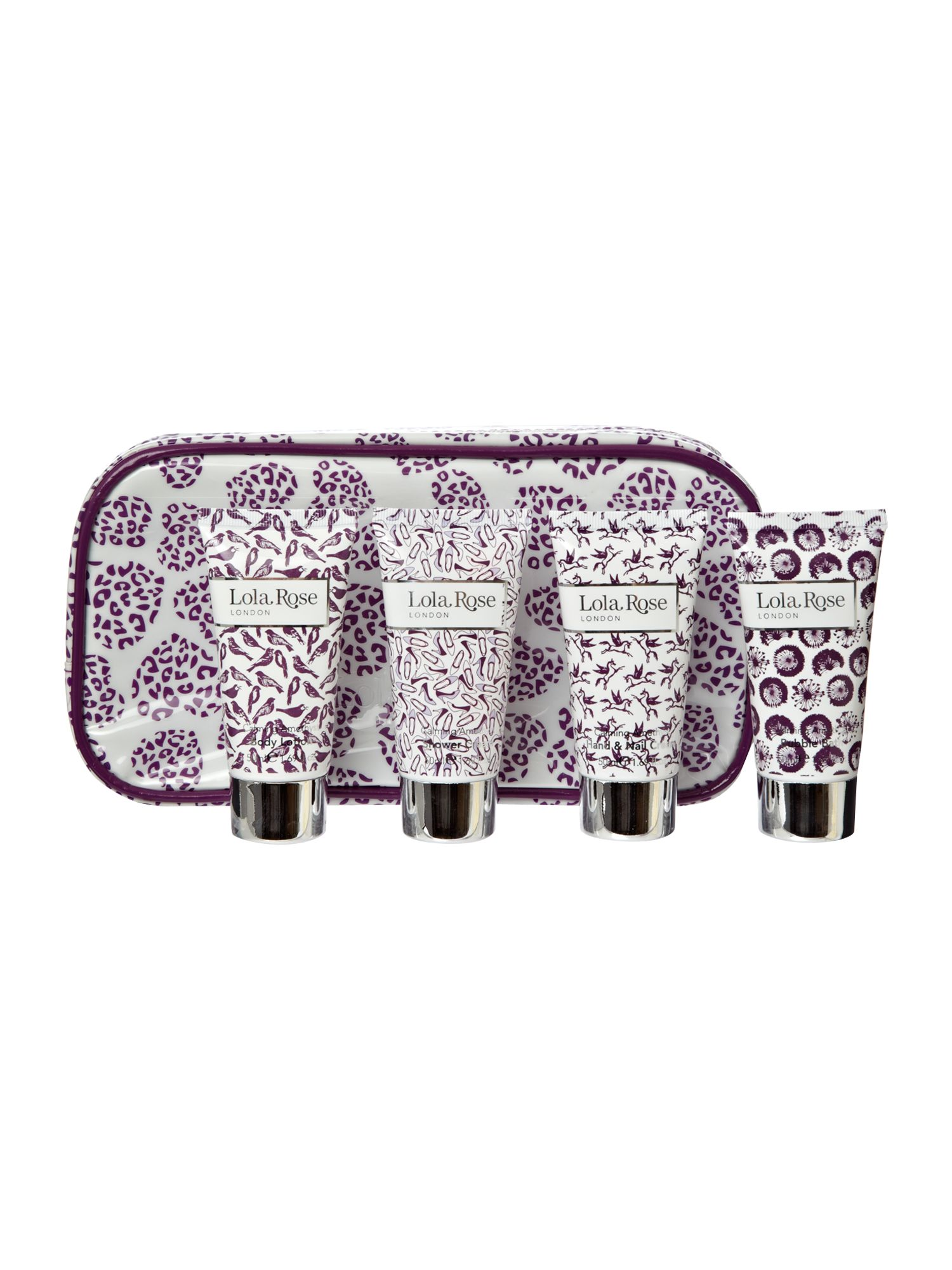 Calming Amethyst Bathing Travel Bag
