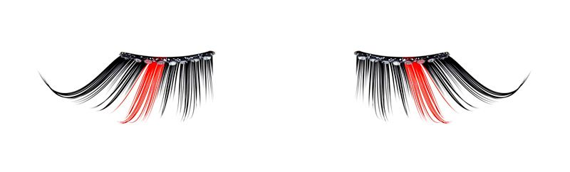 Karl Lagerfeld Natural False Eyelashes