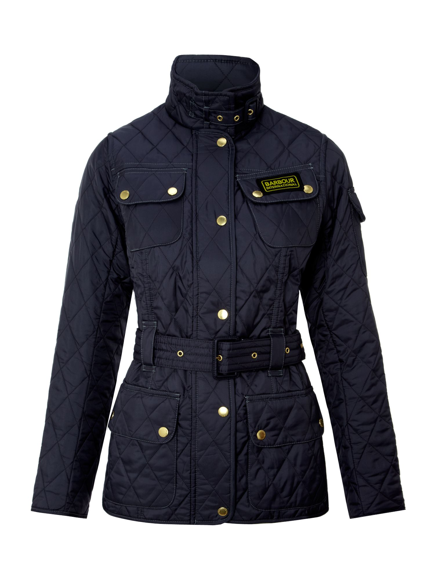 International quilted jacket