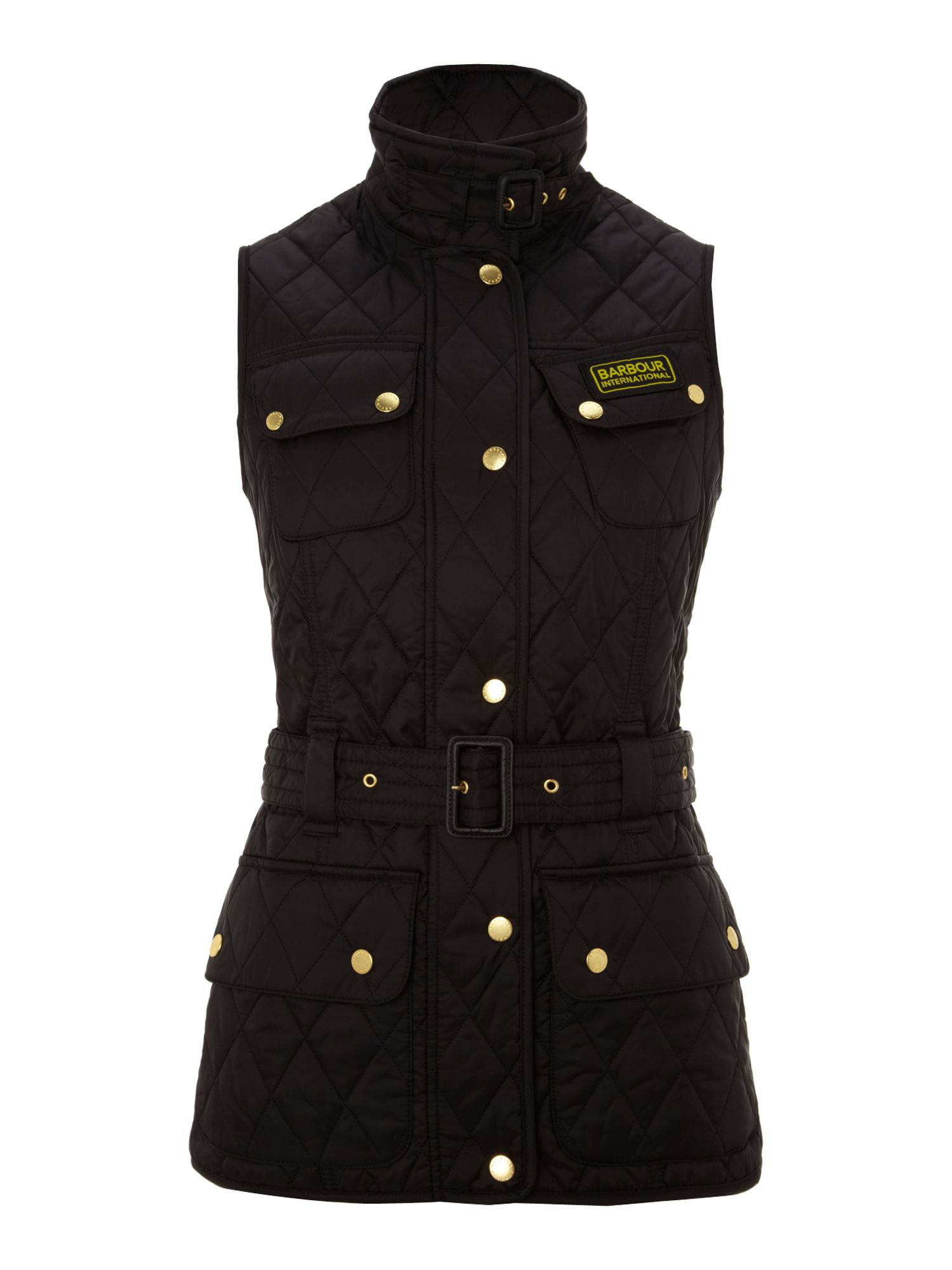 Blackwater Funnel Neck Zip Front Gilet