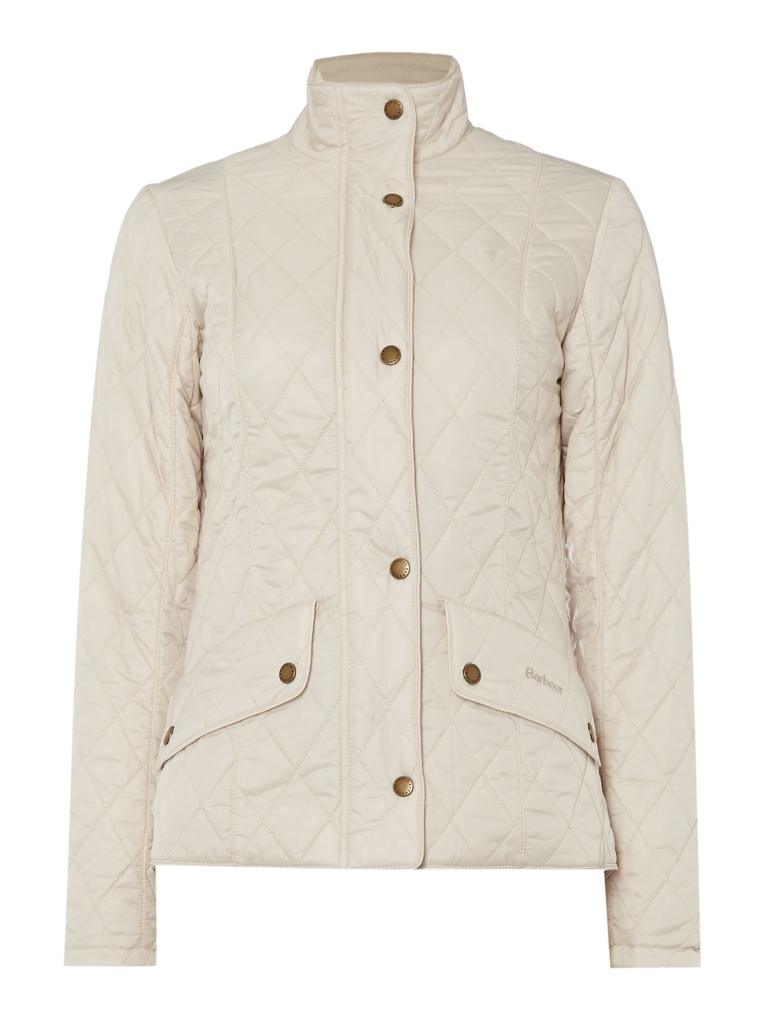 Barbour Flyweight cavalry jacket, White
