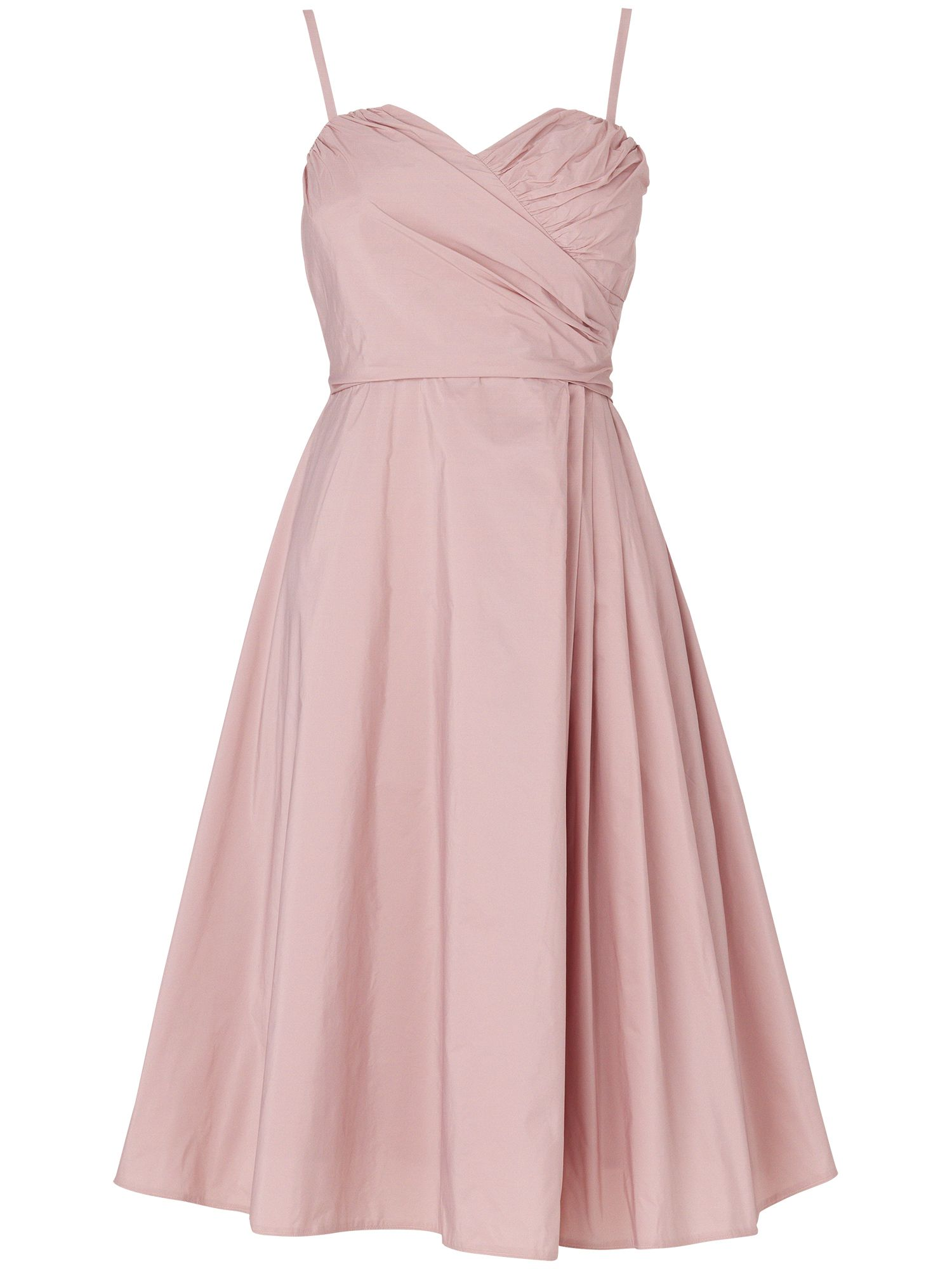 Concerto taffeta dress
