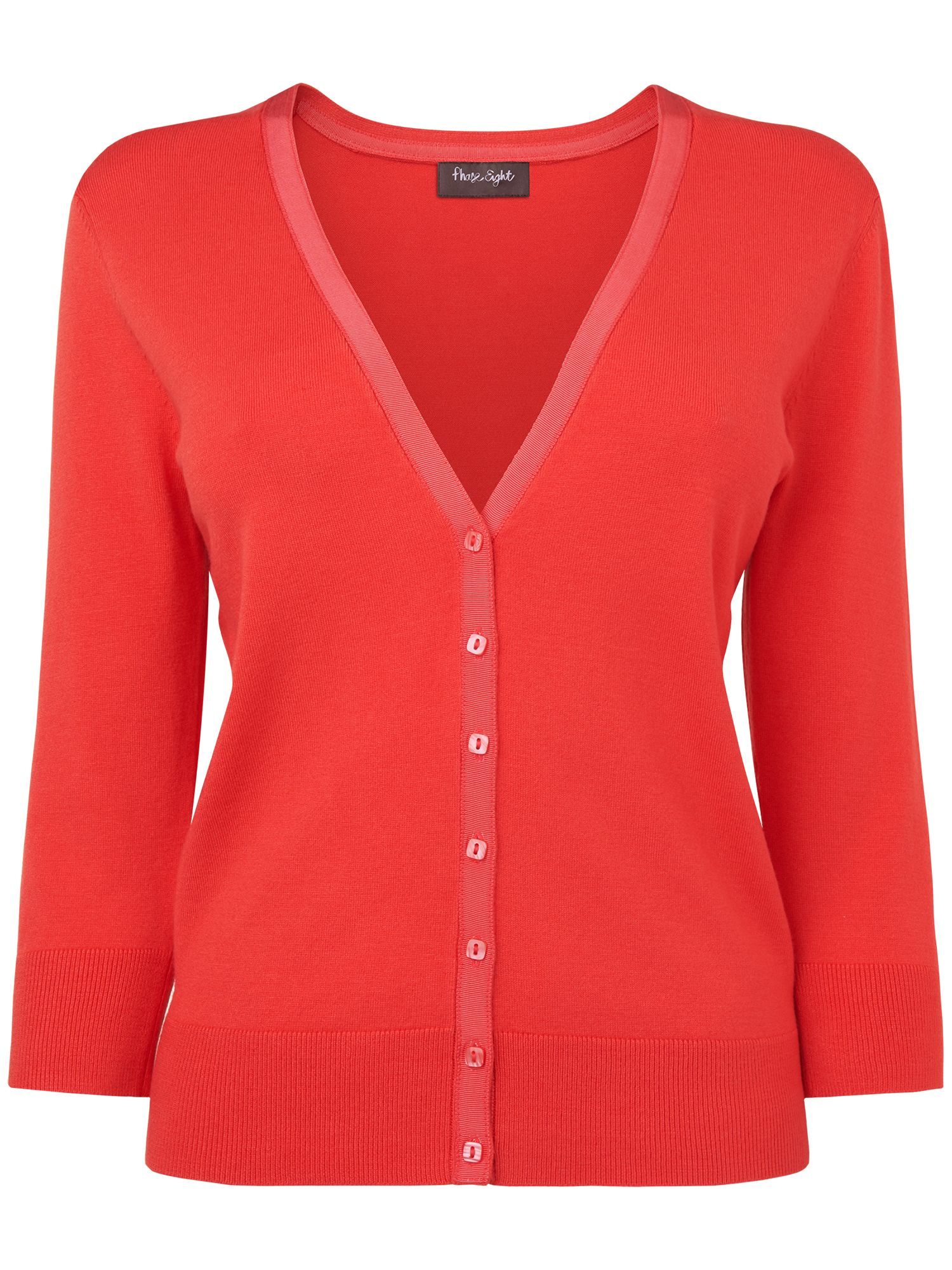 Carrie simple v neck cardigan