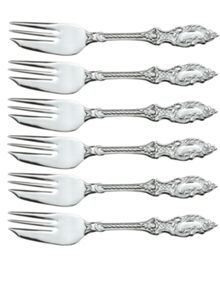 Arthur Price Stainless Steel box of 6 pastry fork
