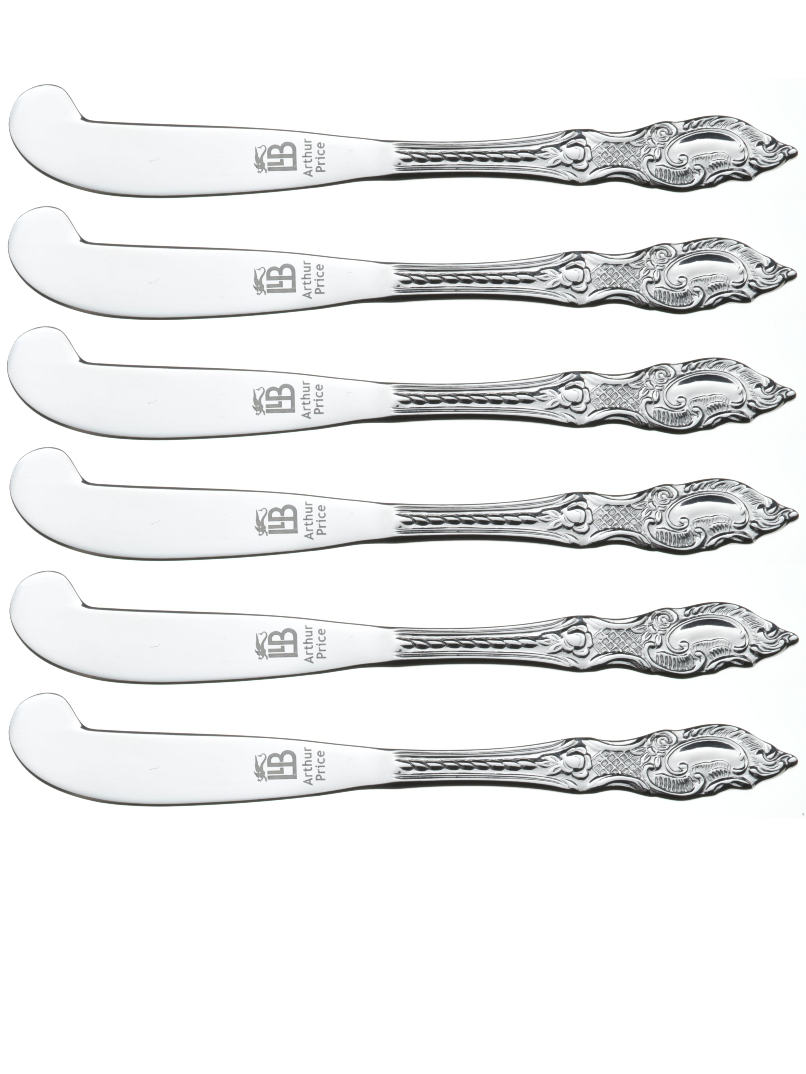 Box of 6 tea knives