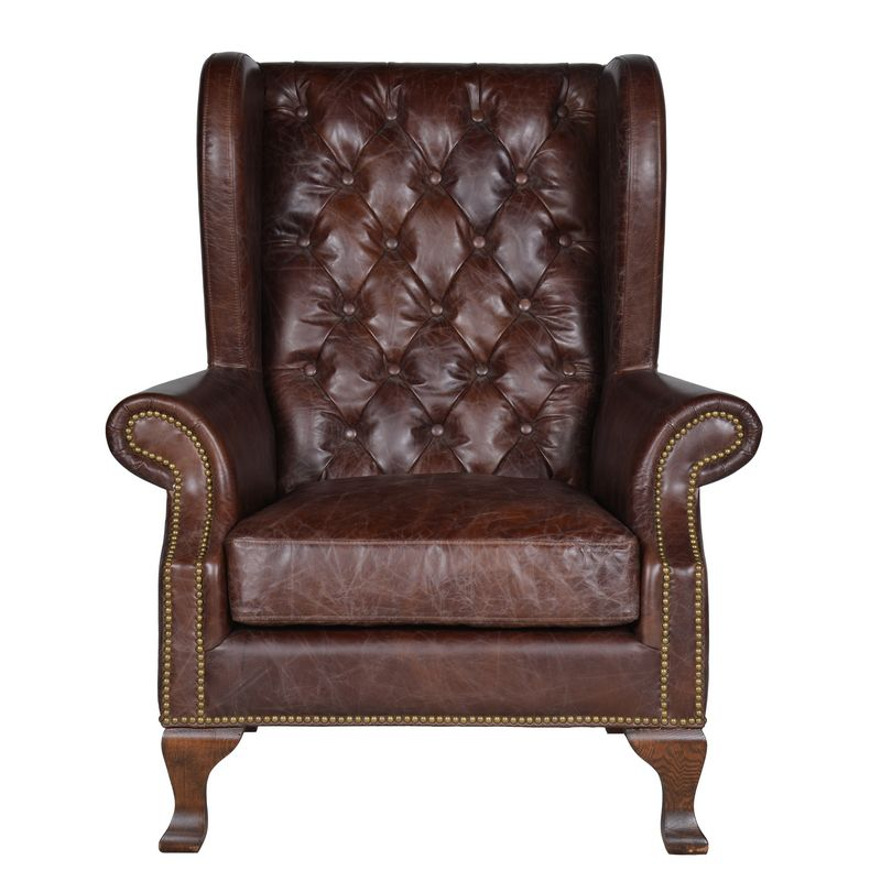 Kingston occasional chair brown