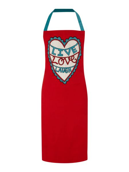 Linea by Mary Fellows Live Laugh Love Apron