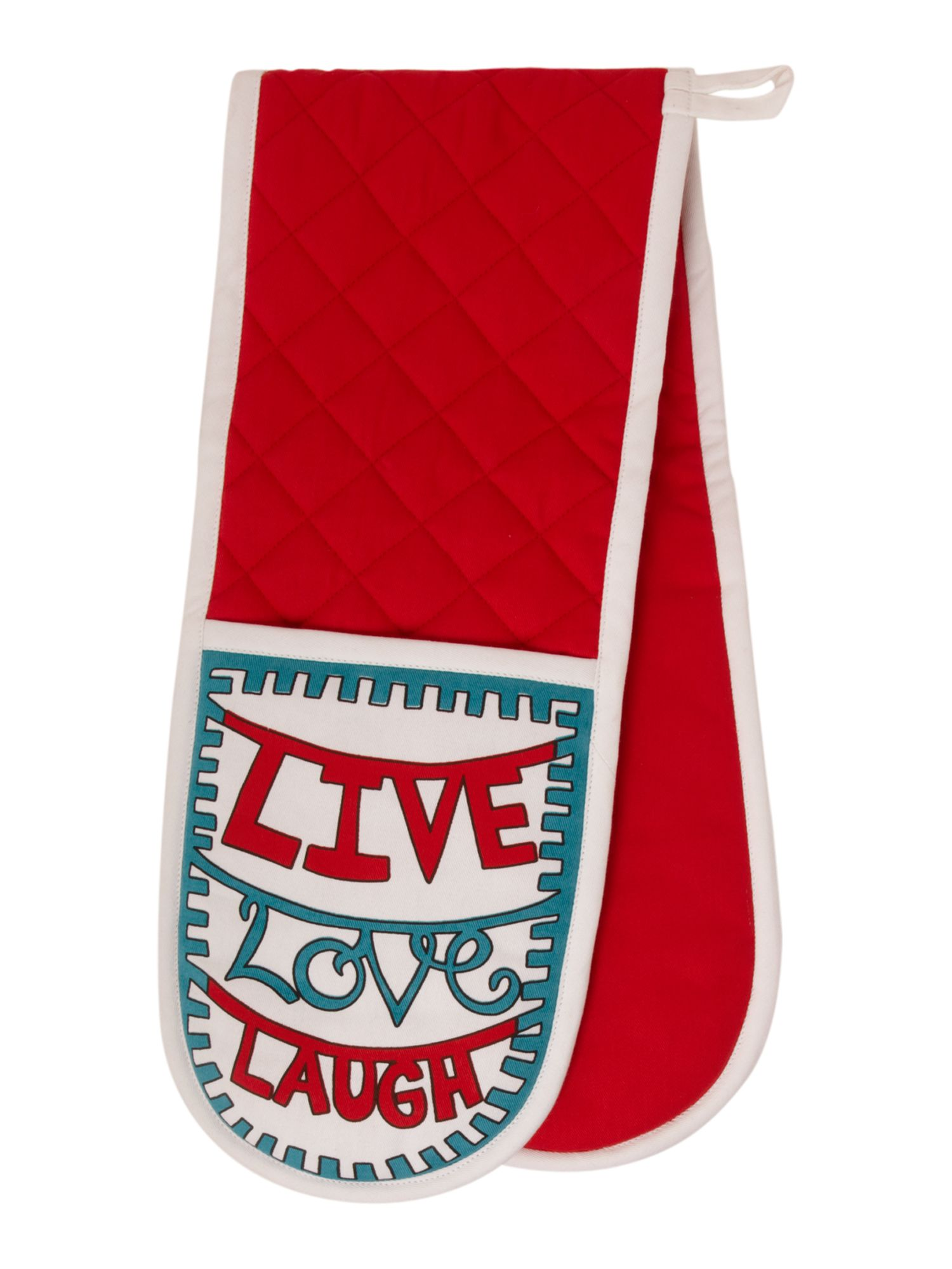 Live laugh love double oven glove