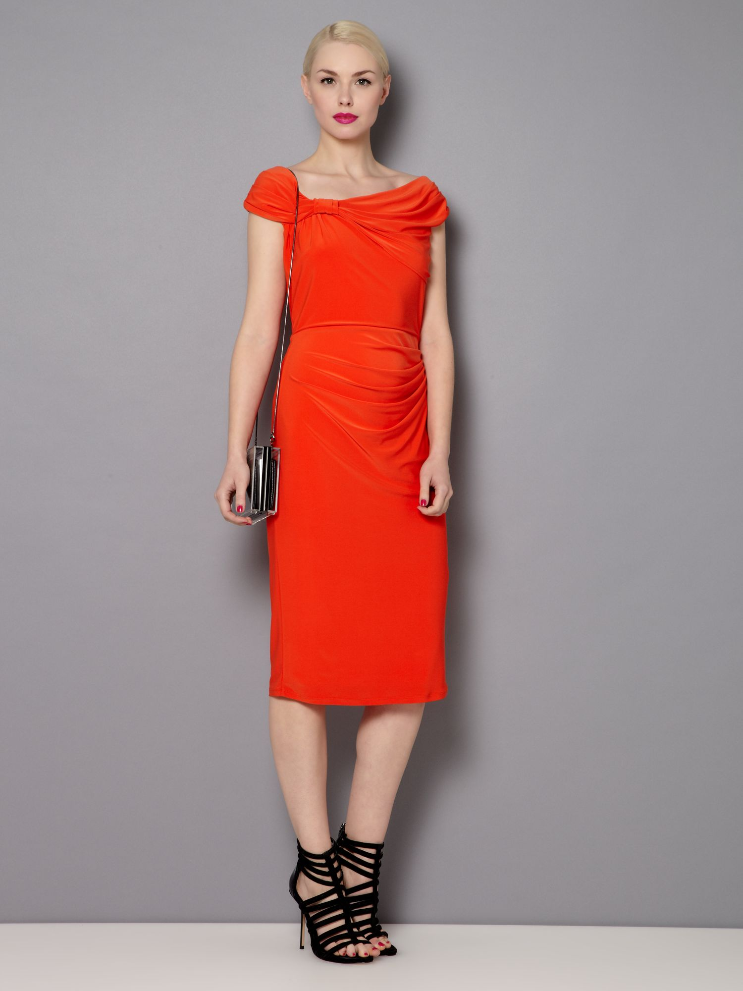 The gina asymmetric dress