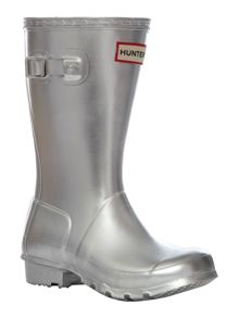 Hunter Kid`s Original Metallic Welly