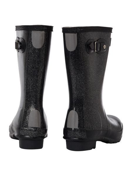Hunter Kid`s Original Glitter Hunter Welly