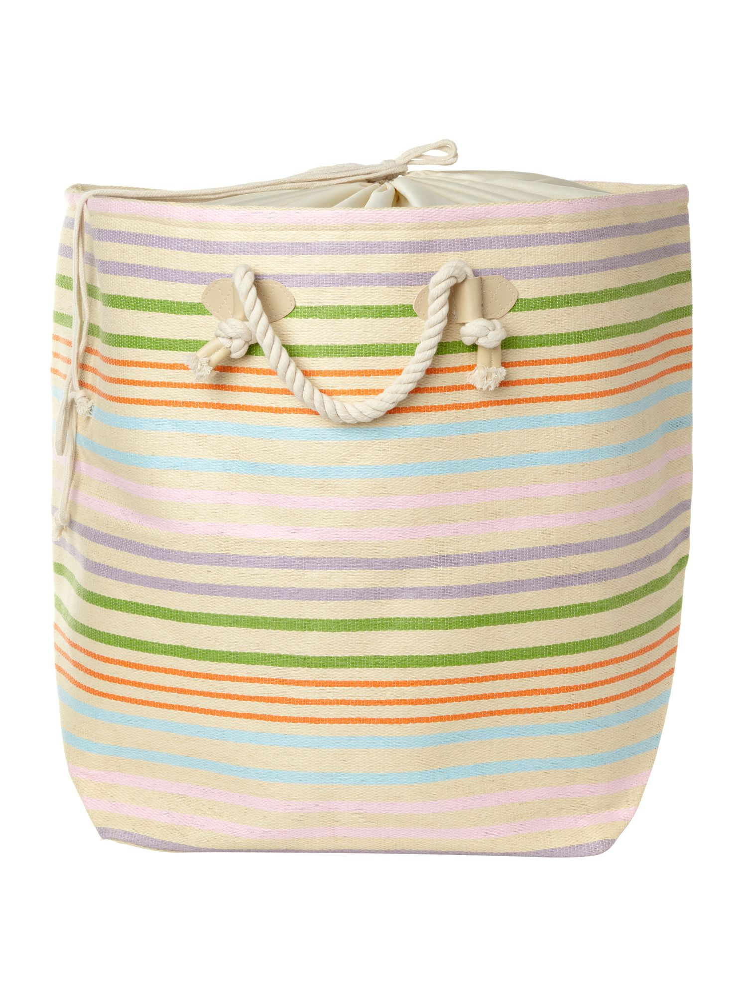 Sorbet stripe laundry bag
