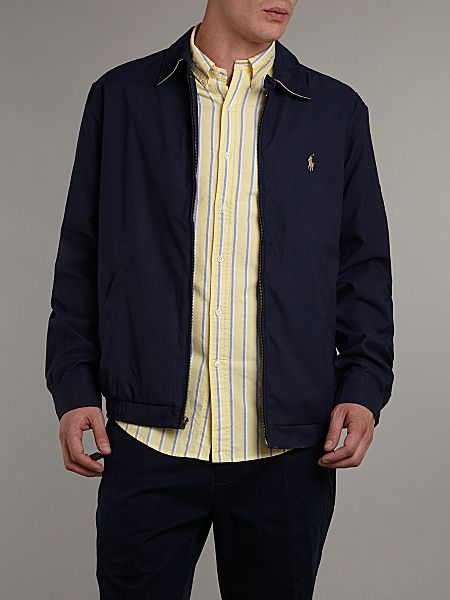polo ralph lauren classic windbreaker french navy house. Black Bedroom Furniture Sets. Home Design Ideas