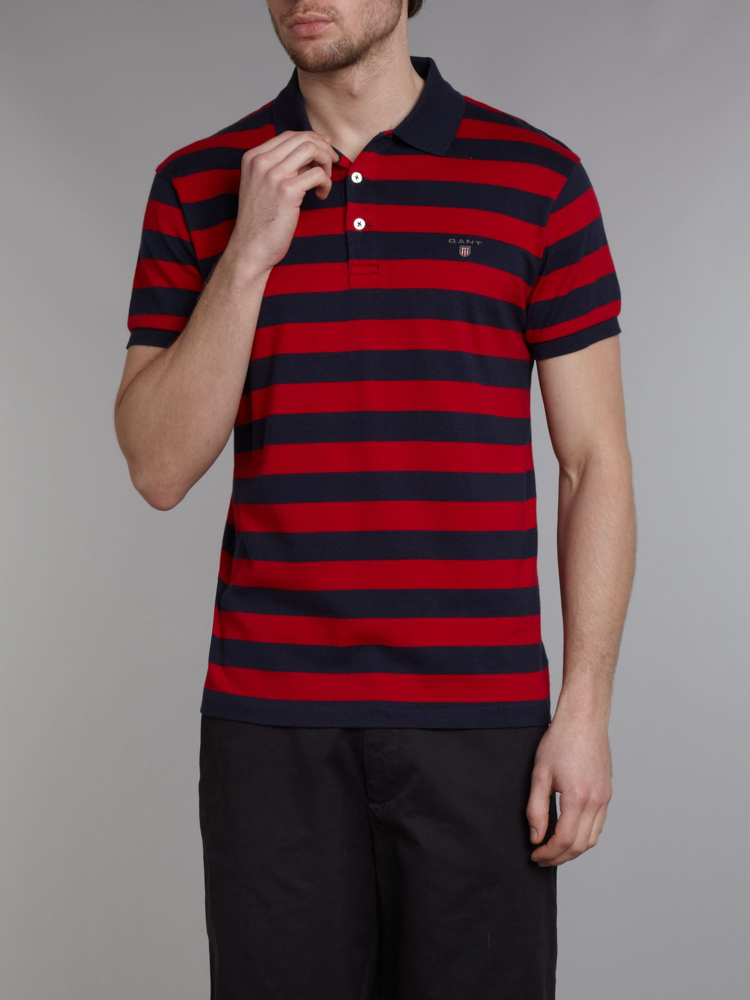 Barstripe polo shirt