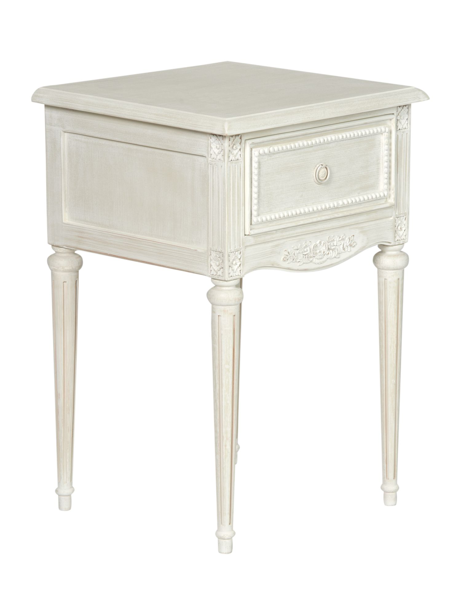 Heather 1 drawer bedside chest