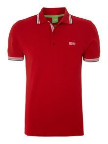 Paddy Regular Fit Tipped Logo Polo Shirt