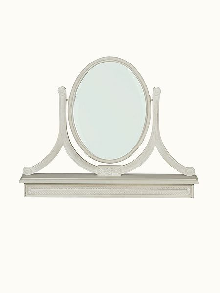 shabby chic heather dressing table mirror house of fraser. Black Bedroom Furniture Sets. Home Design Ideas
