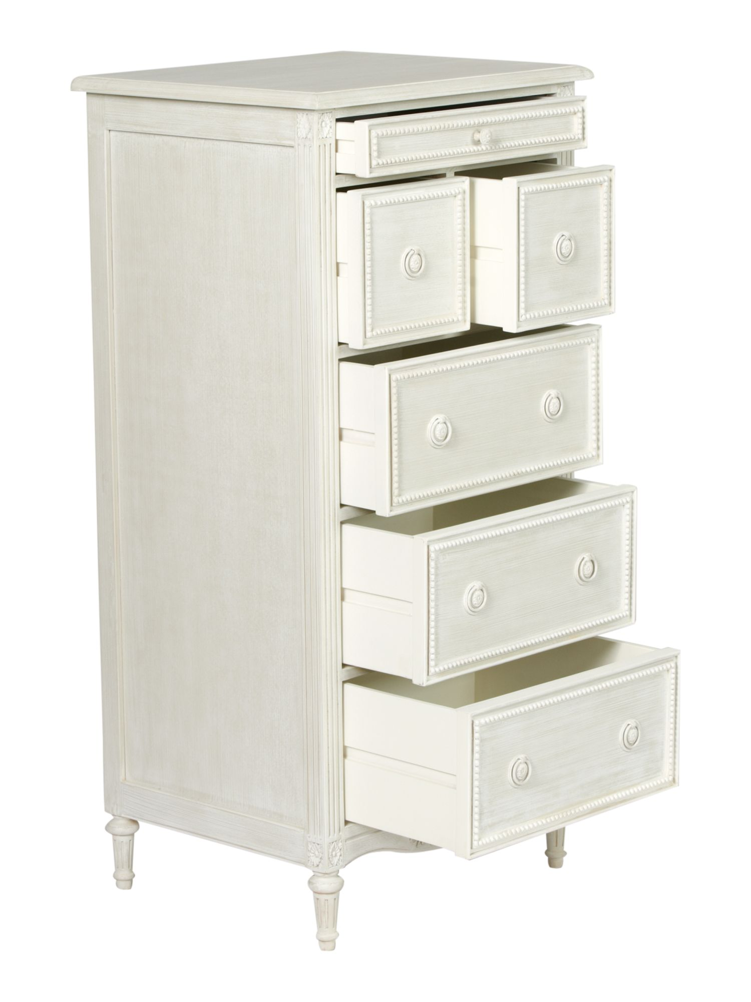 Heather 3+2+1 drawer tall chest