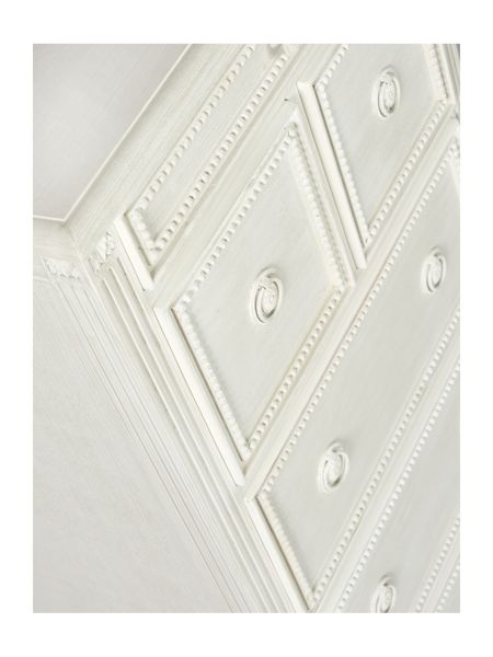 Shabby Chic Heather 3+2+1 drawer tall chest