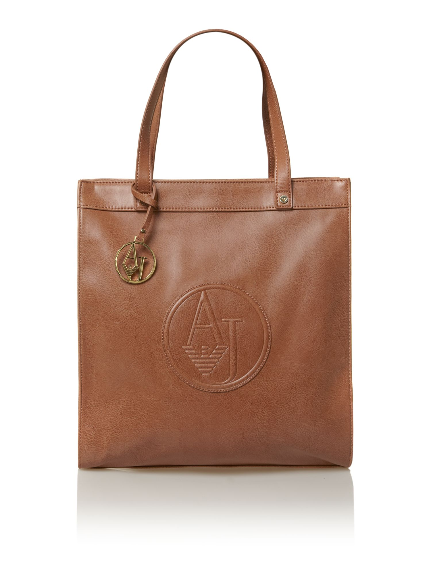Logo charm shopper