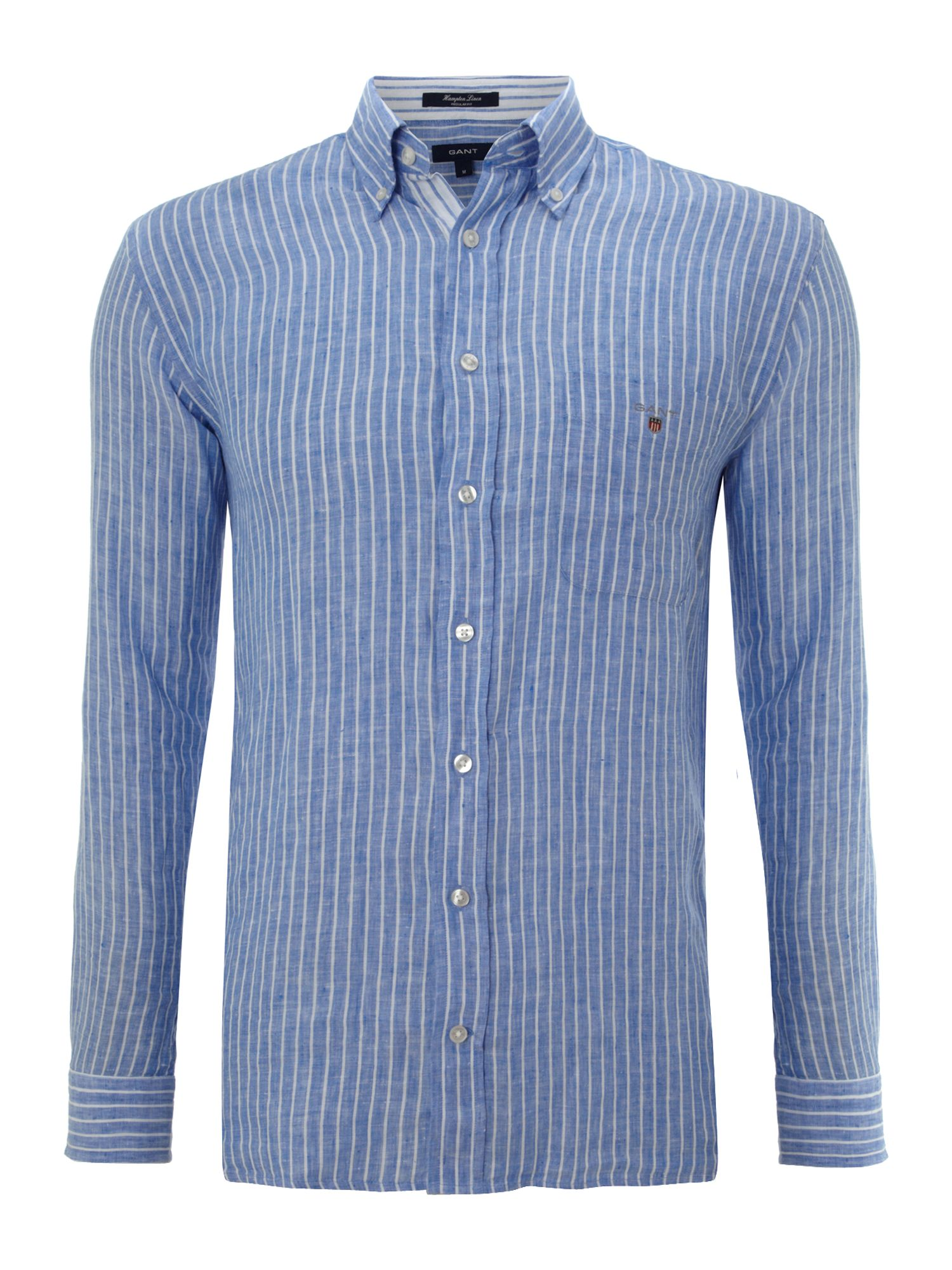 Long sleeve hampton linen shirt