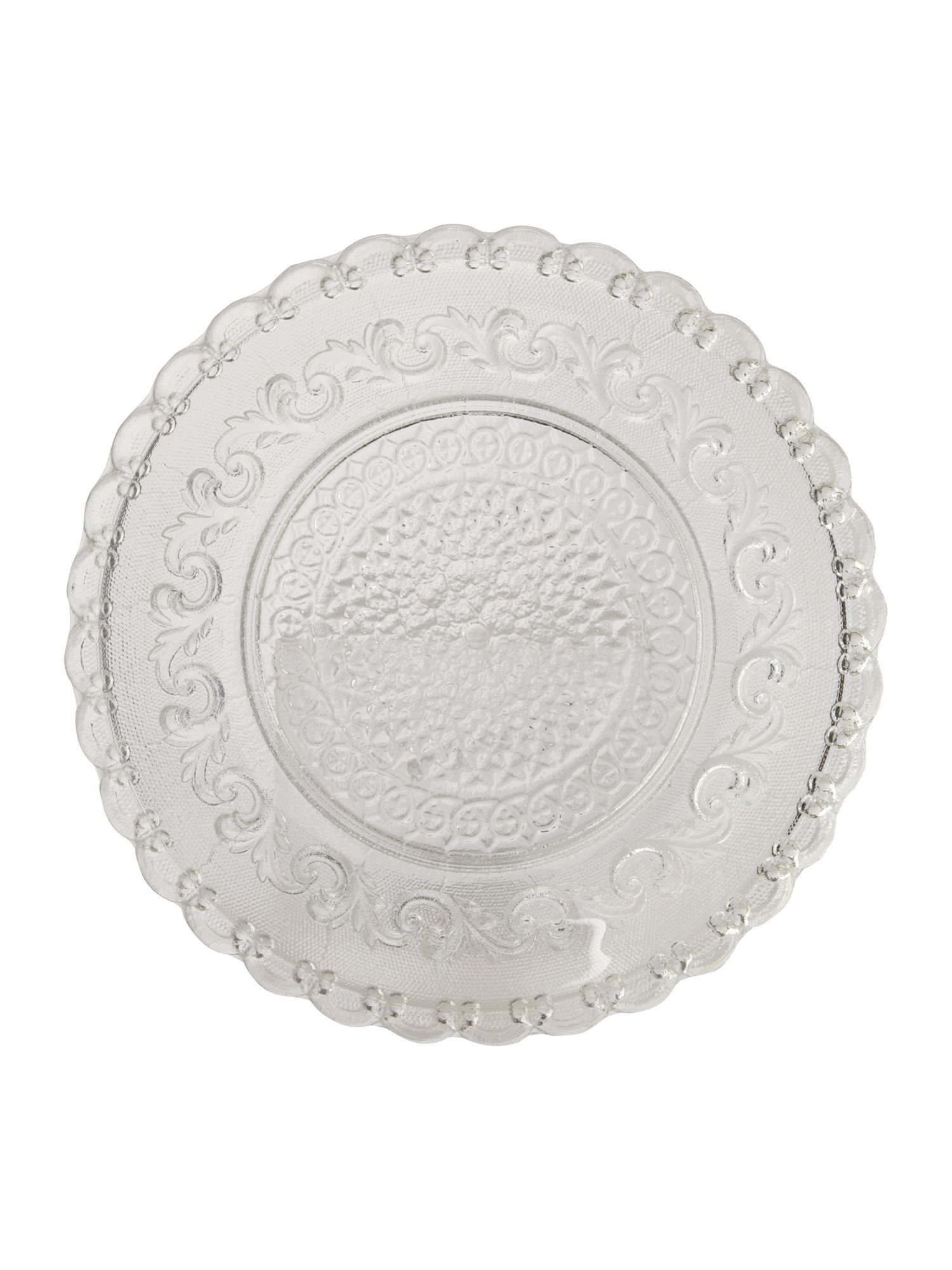 Linea Pretty clear cake plate