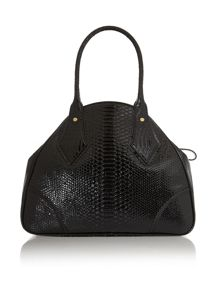 Large Frilly Snake Dome Bag