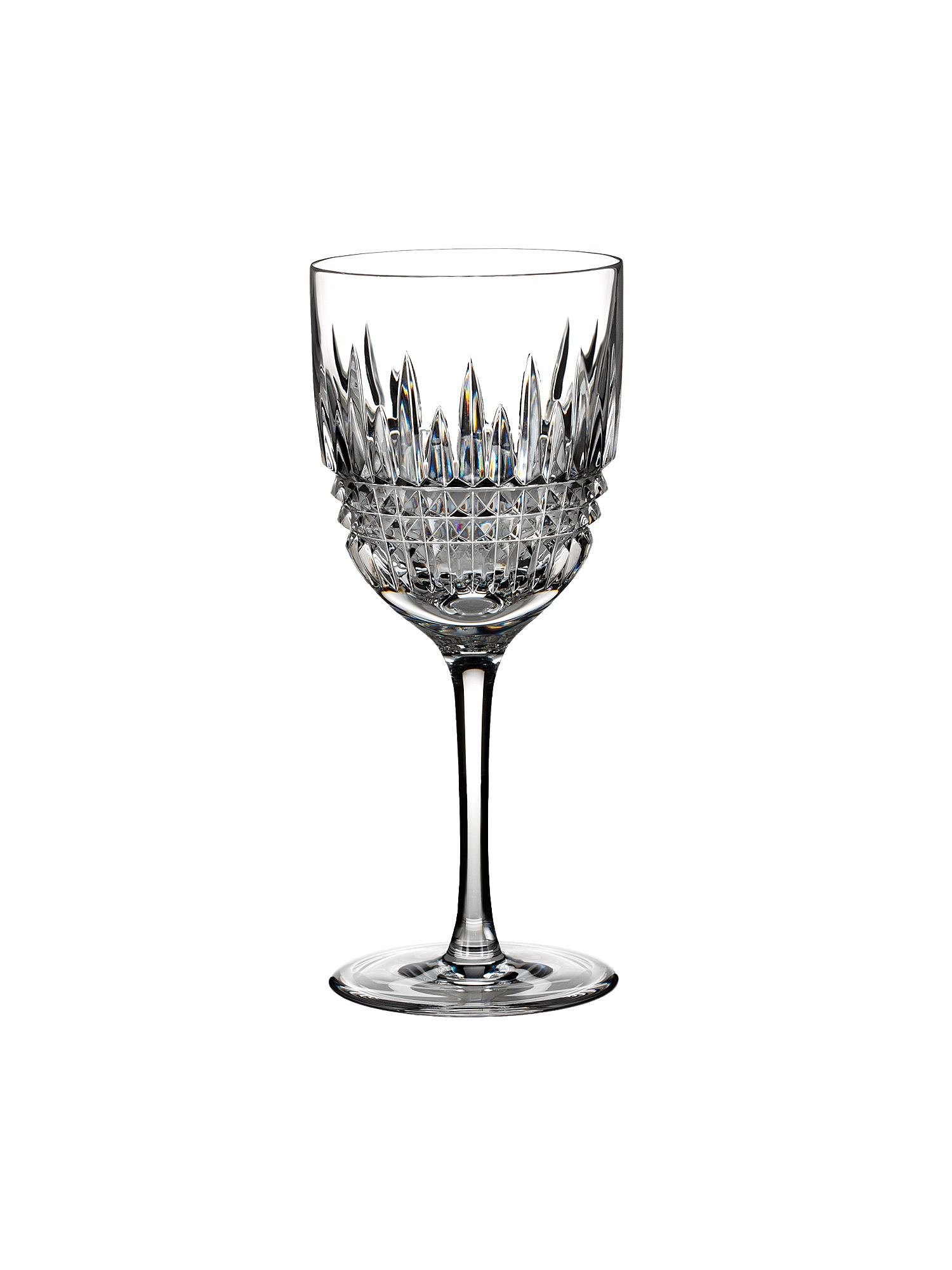 Lismore diamond red wine goblet, set of 2