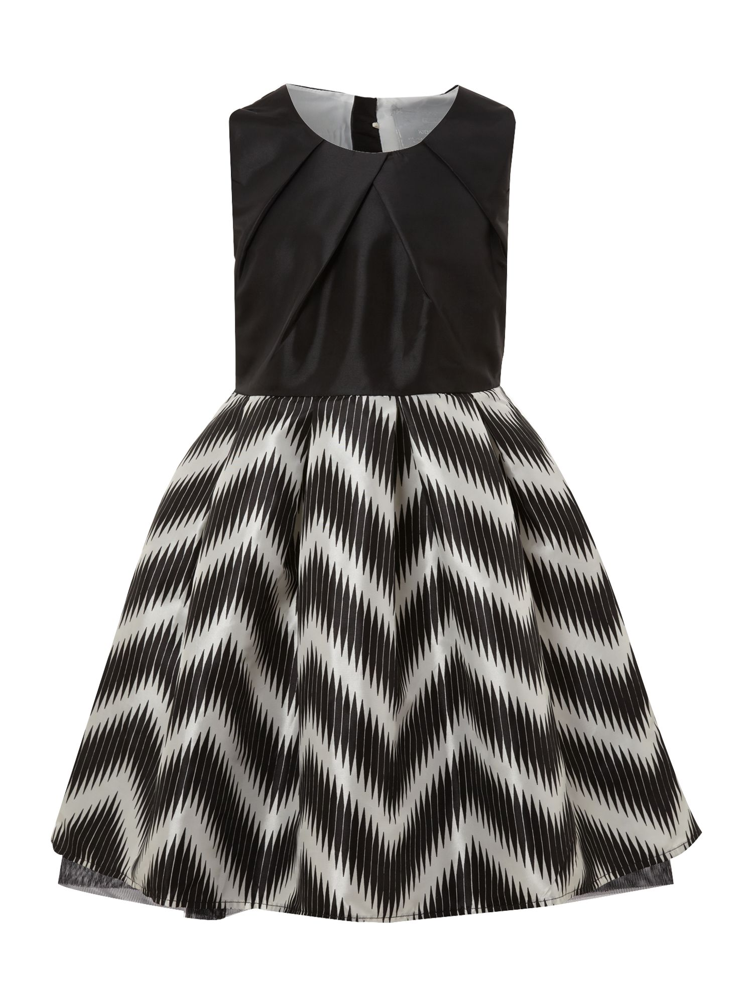 Girl`s sleeveless party dress