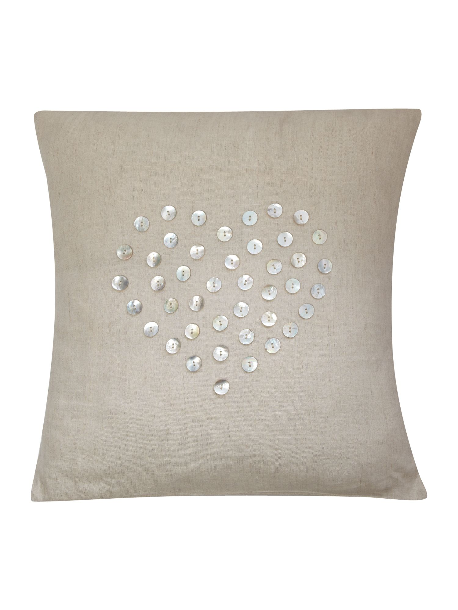 Mother of pearl cushion
