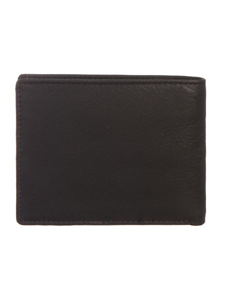 Howick Boxed tumbled leather bifold wallet w/coin pocket