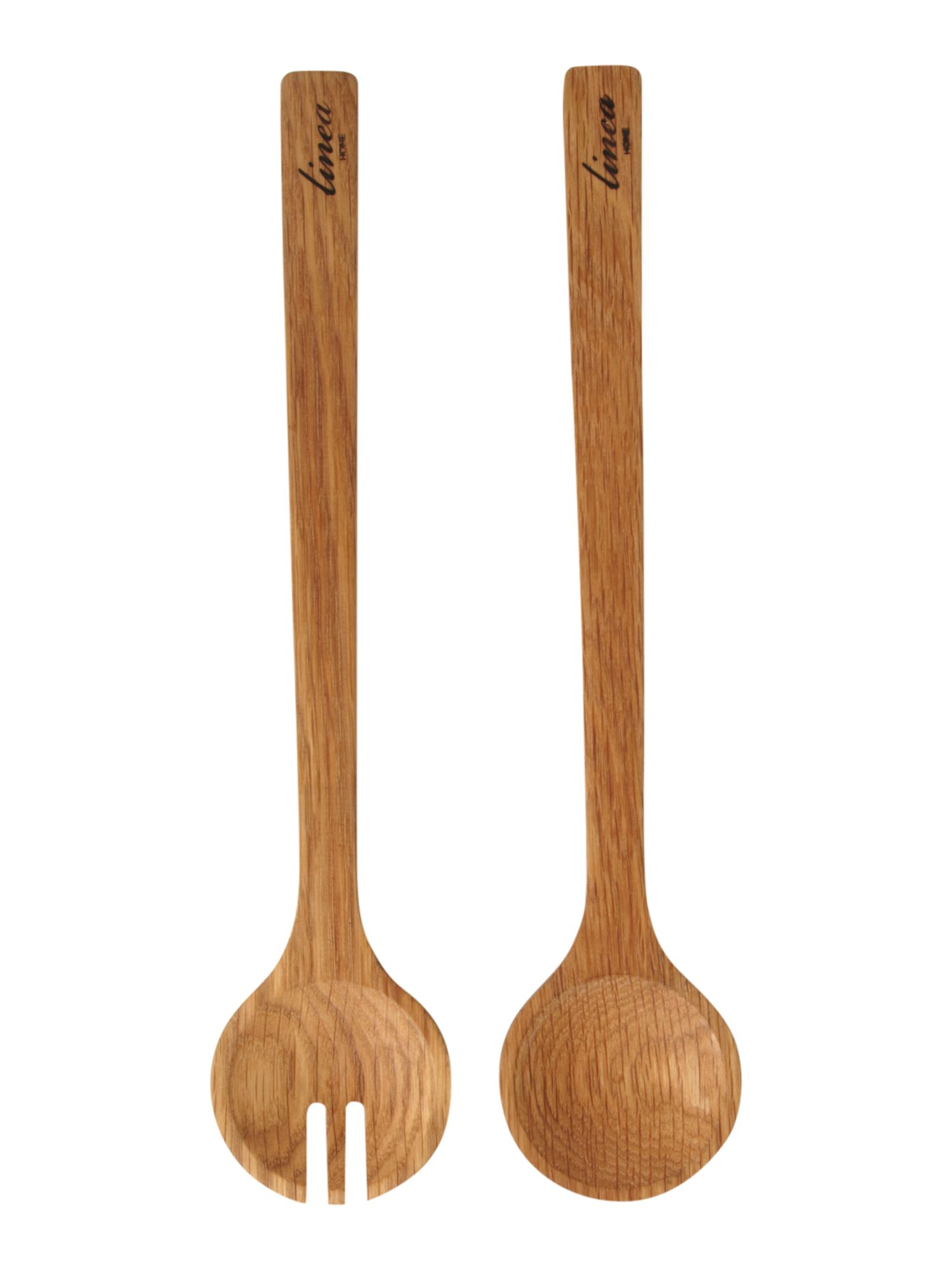 Oak utensil set