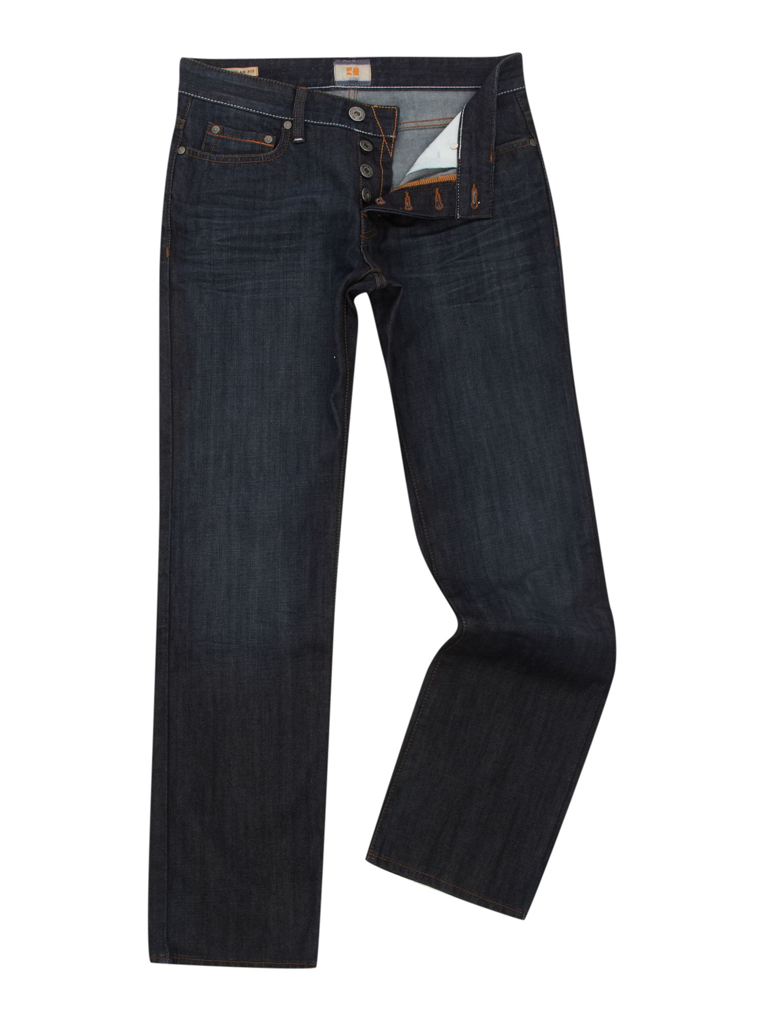`Orange 25` 402 Dark Blue Jeans