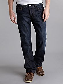 Hugo Boss `Orange 25` 402 Dark Blue Jeans