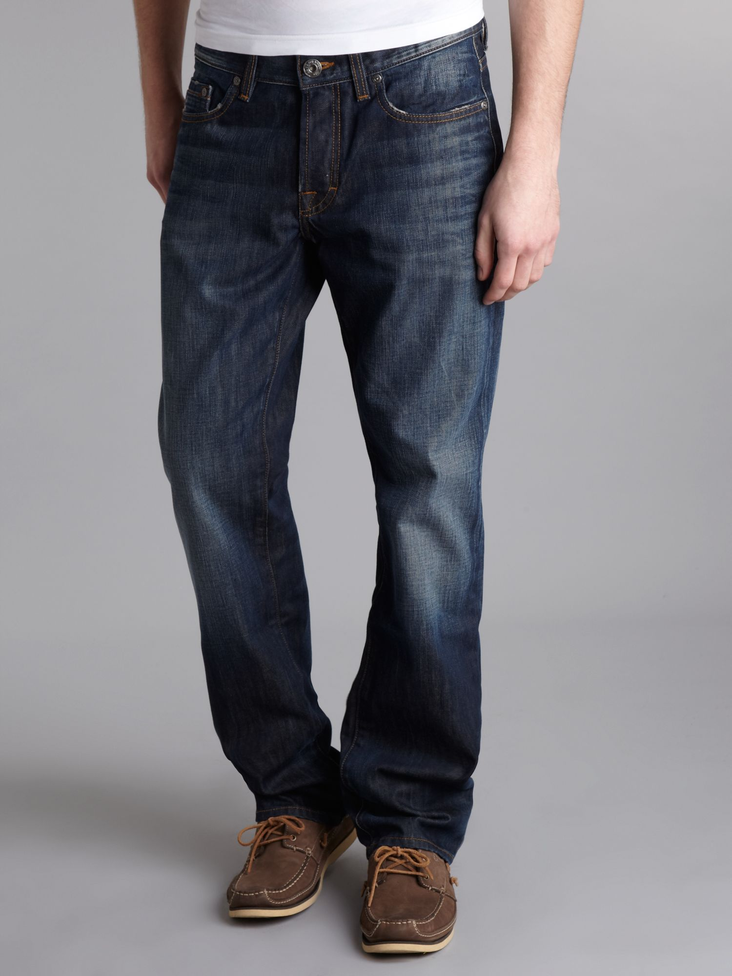 `Orange 25` 404 Dark Blue Jeans