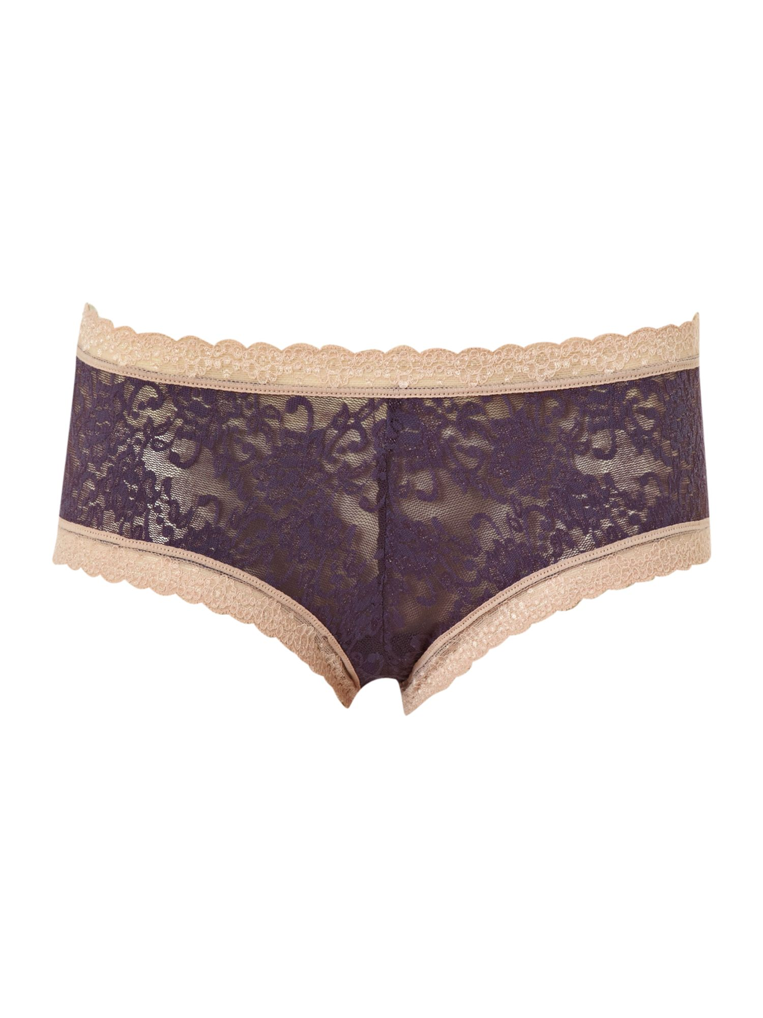 Women's Mary Portas & Kinky Knickers Straight edge knicker, Silver