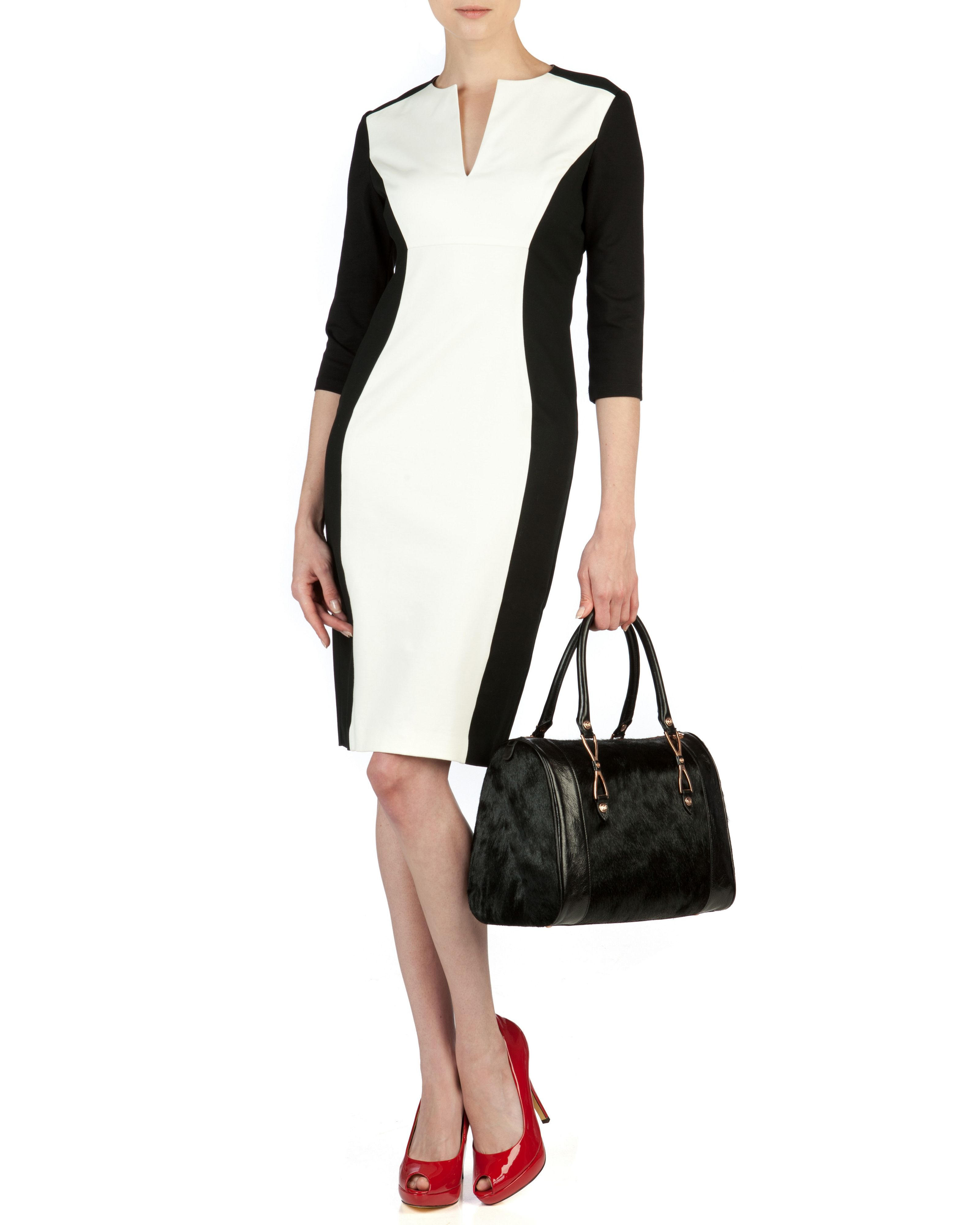 Ristle contrast side dress