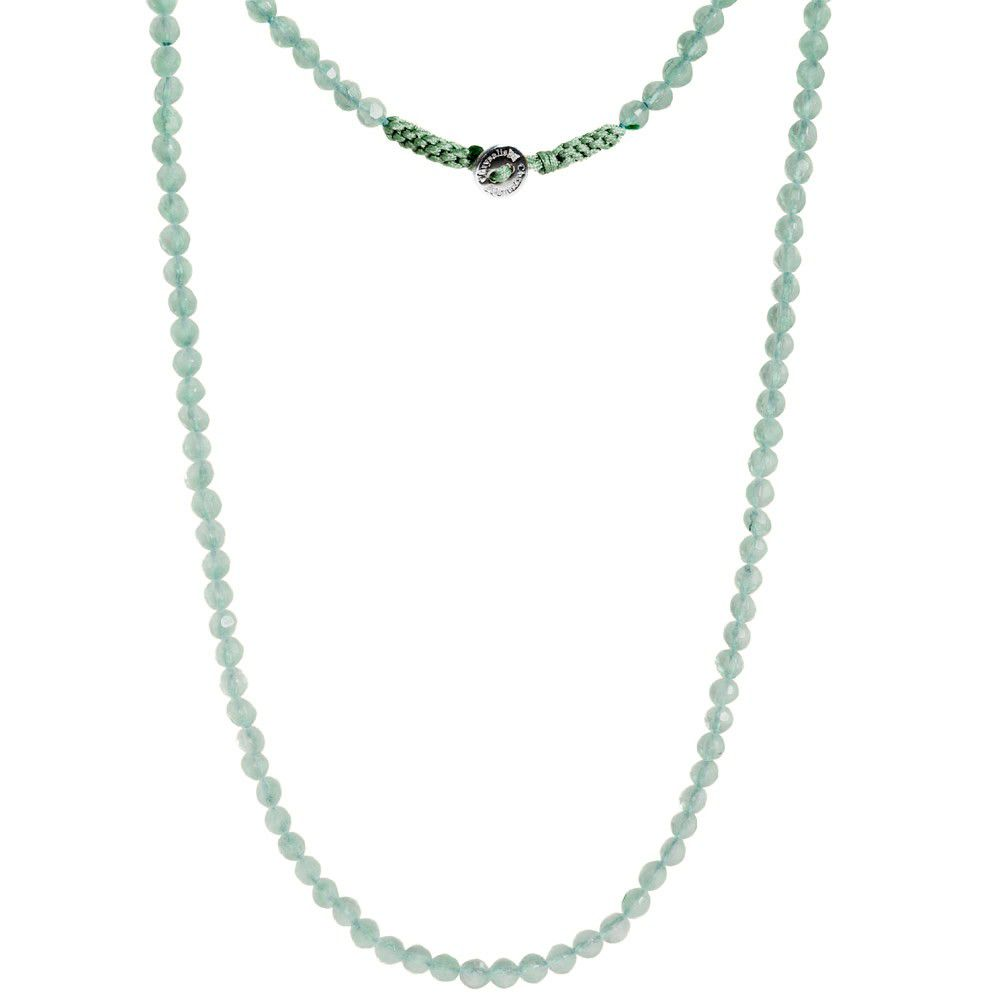 Amazonite Gemstone Lariat Necklace