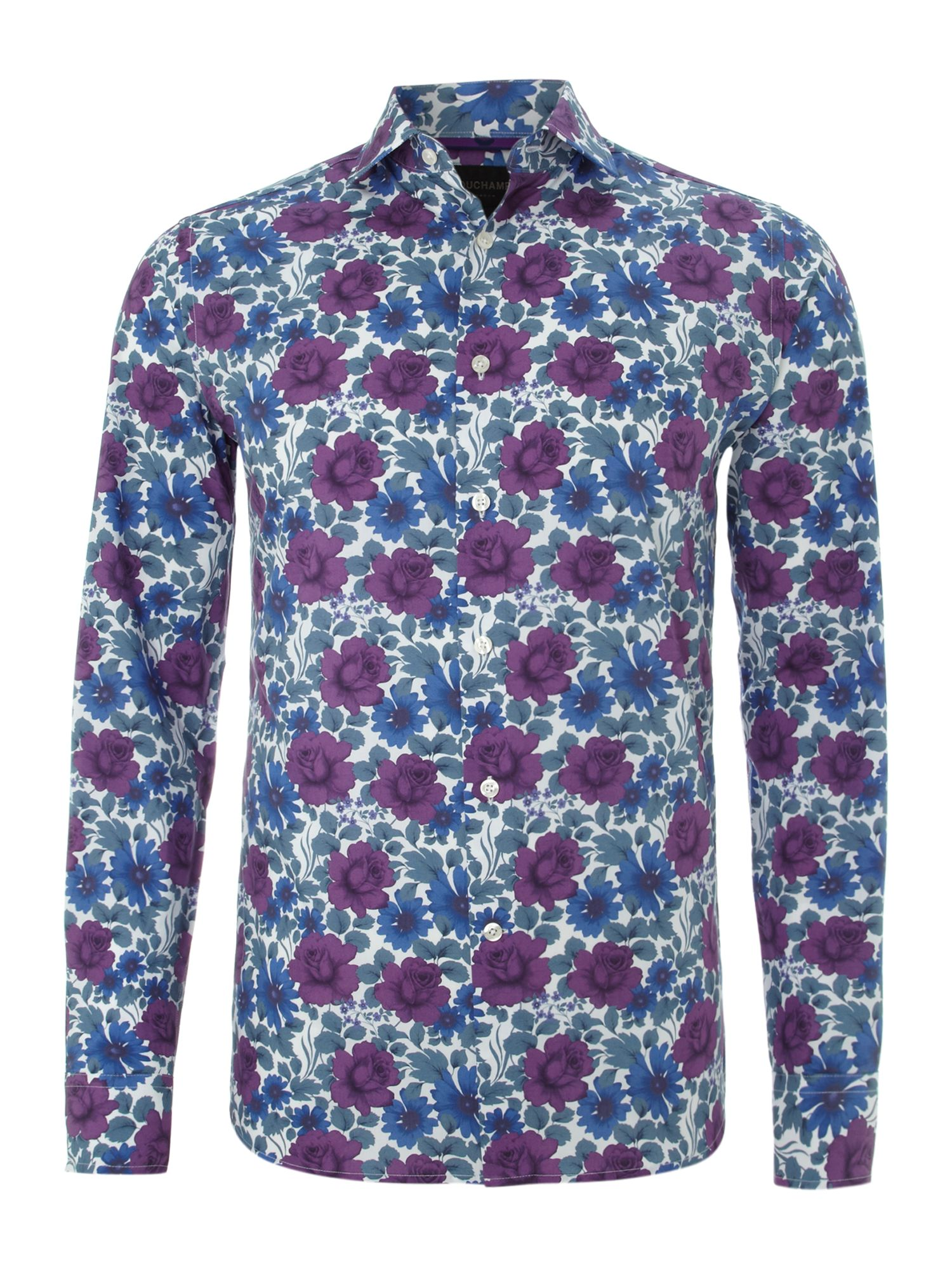 Long sleeve ives floral hirt