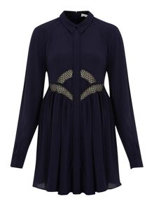 Finders Keepers Shirt swing dress