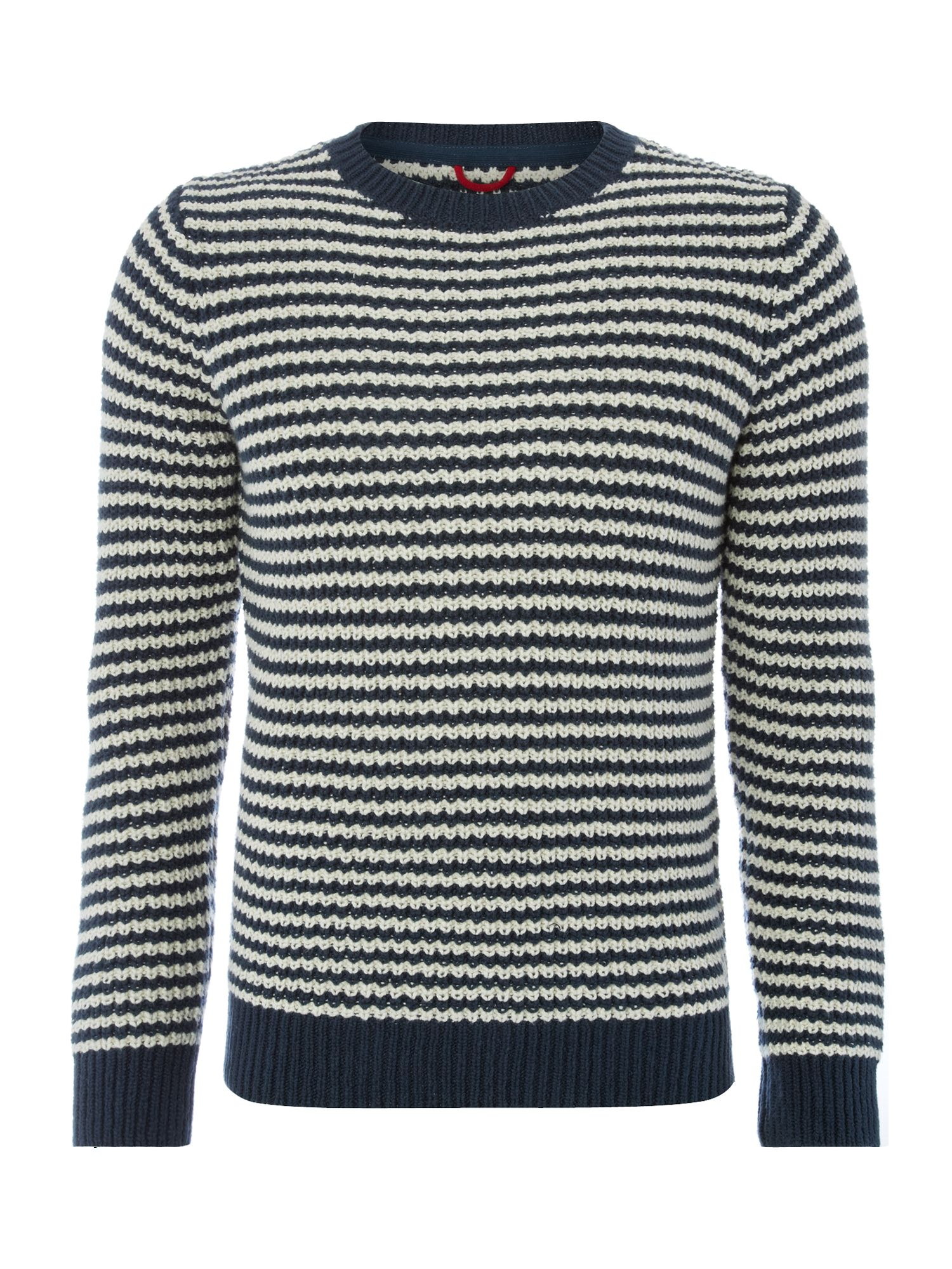Cotton chunky stripe jumper