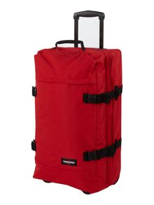 Tranverz Red Medium Wheeled Duffle
