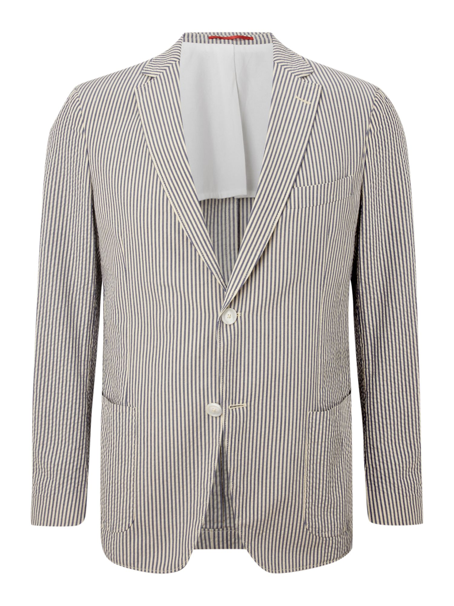 Striped Seersucker blazer