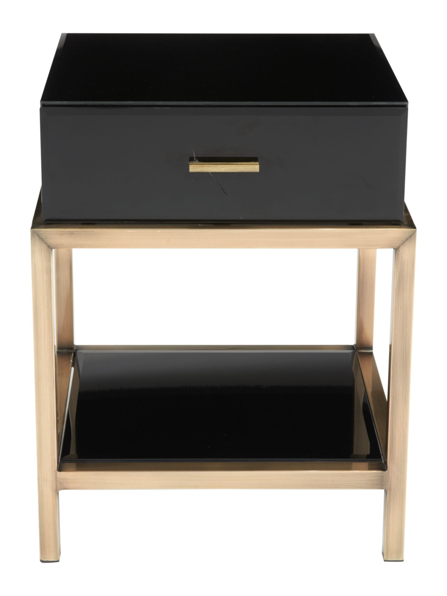 Manhattan 1 drawer lamp table