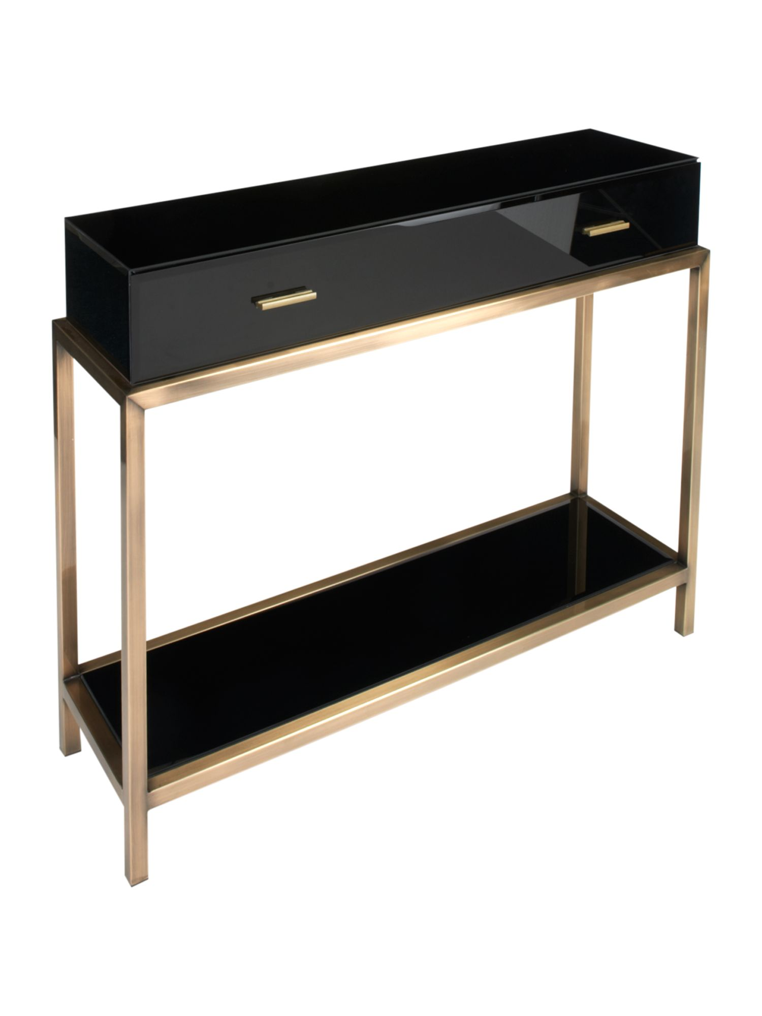 Manhattan 1 drawer console table