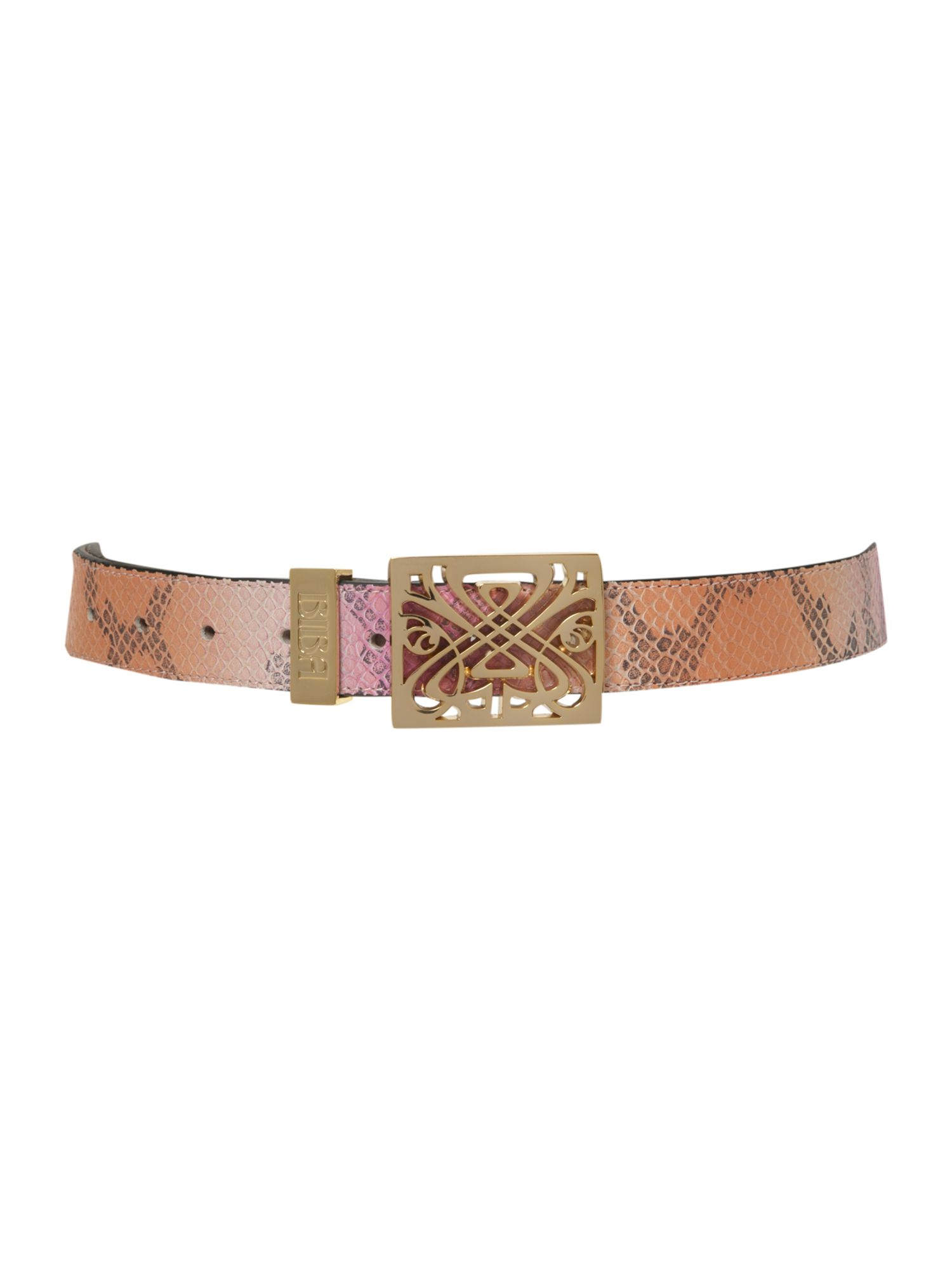 Filagree belt