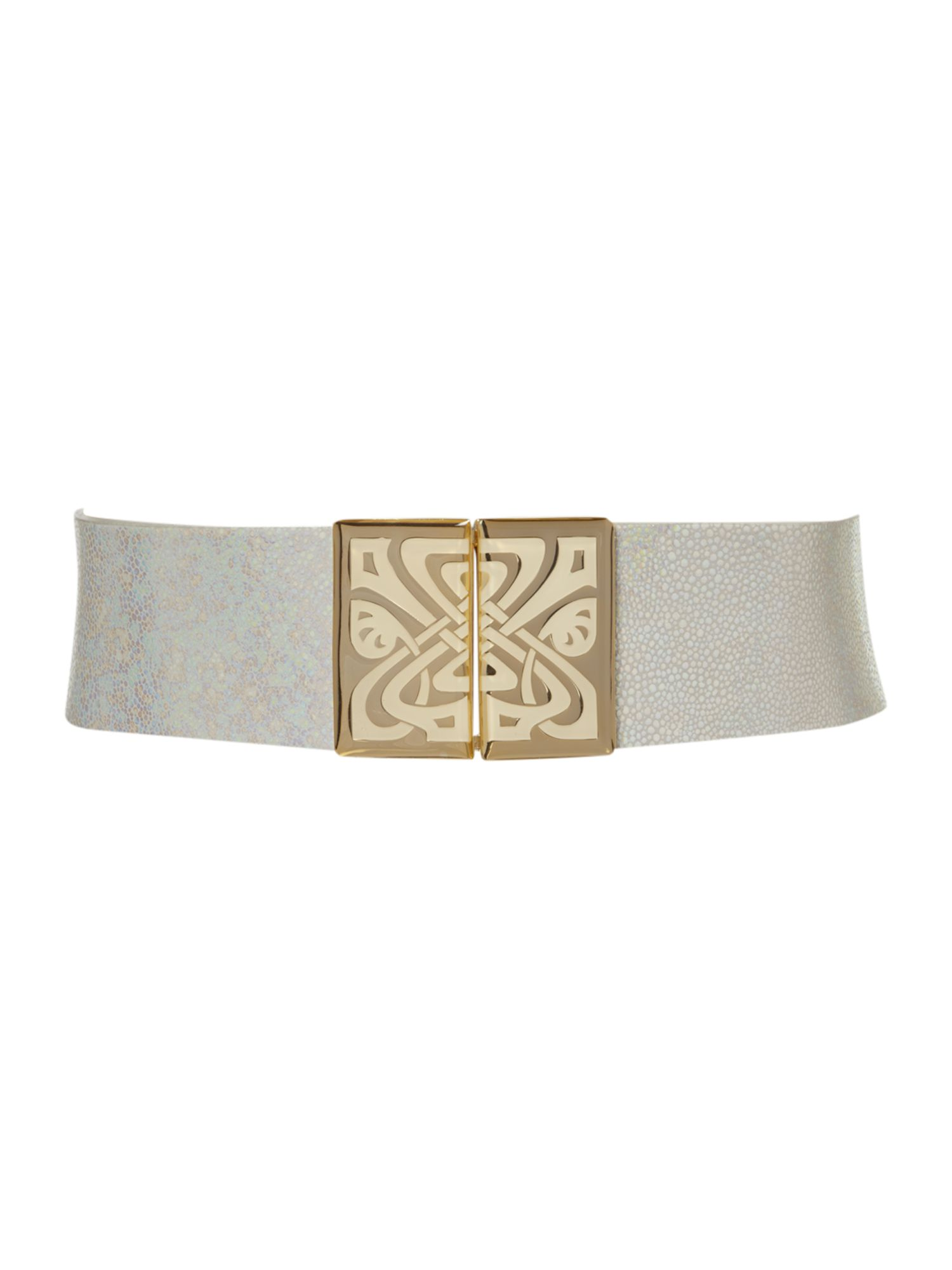 Enamel waisted belt